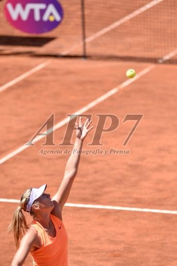 TENNIS - WTA ITALY - SARAPOVA V MCHALE