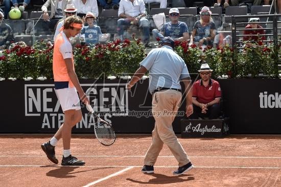TENNIS - ATPMASTER TENNIS - ZVEREV V ISNER