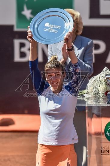 TENNIS - FINAL ATP MASTER ROME - SVITOLINA V HALEP