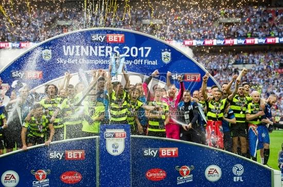 FOOTBALL - EFL Sky Bet Championship Play-Off - HUDDERSFIELD V READING