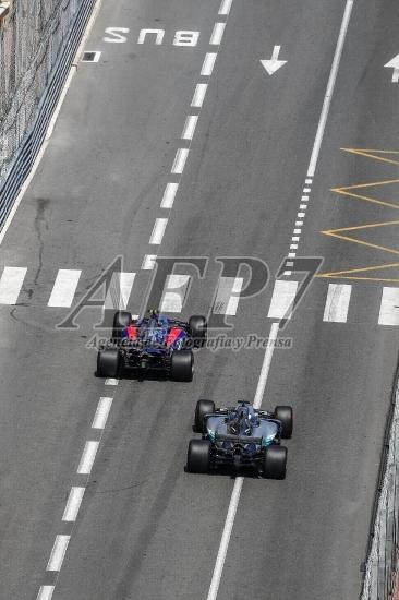 F1 - MONACO GRAND PRIX RACE  - 2017