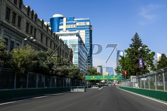 F1 - EUROPE  GRAND PRIX - AZERBAIJAN 2017