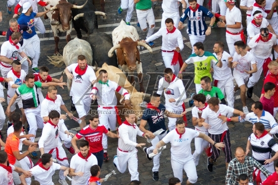 SAN FERMIN 2017 – BULL RUN OF CEBADA GAGO
