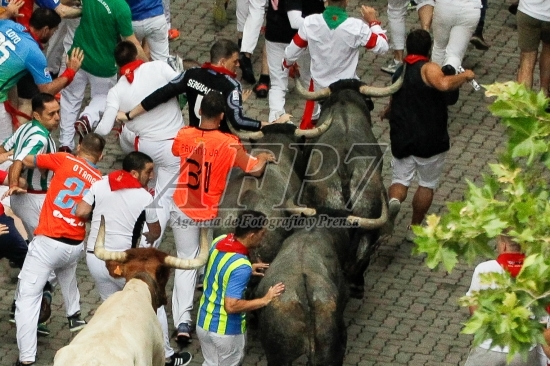 SAN FERMIN 2017 – BULL RUN OF JOSE ESCOLAR