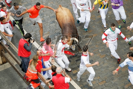 SAN FERMIN 2017 – BULL RUN OF SAN LORENZO
