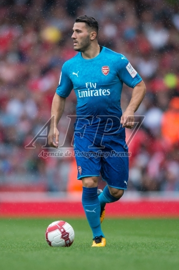 FOOTBALL - EMIRATES CUP - ARSENAL V BENFICA