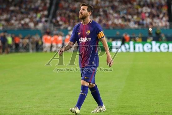 FOOTBALL - INTERNATIONAL CHAMPIONS CUP 2017 - REAL MADRID v BARCELONA