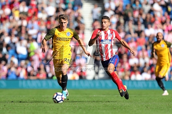 FOOTBALL - FRIENDLY GAME - BRIGHTON AND HOVE ALBION v ATLETICO MADRID