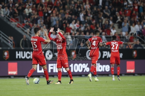 FOOTBALL - FRENCH CHAMP - L1 - RENNES v LYON