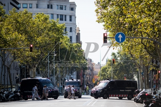 Terror Attack in Barcelona, Catalonia, Spain, Aug 18th 2017