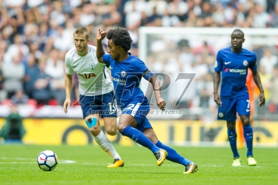 FOOTBALL - PREMIER LEAGUE - TOTTENHAM V CHELSEA